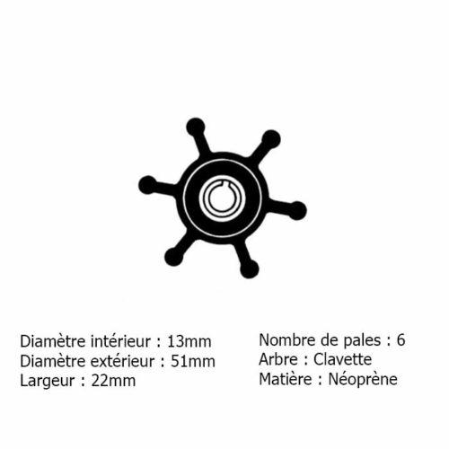 Yanmar-124223-42092-124223-42091    Turbine-124223-42092    Impeller-124223-42091 Yanmar 124223-42092 / 124223-42091