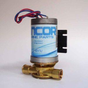 Pompe de cale électrique complète avec turbine en nitrile.    Pour aspiration tous liquides Pompe électrique 45