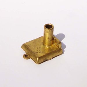Crépine étroite avec filtre inox diamètre le plus large 33mm avec raccord pour durite 20 mm Crépine ronde