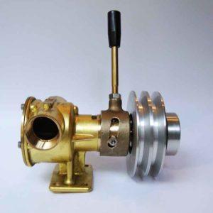 Pompe attelée au moteur à débrayage manuel    Gros Débit    Pour aspiration tous liquides Débrayage manuel AF04MP