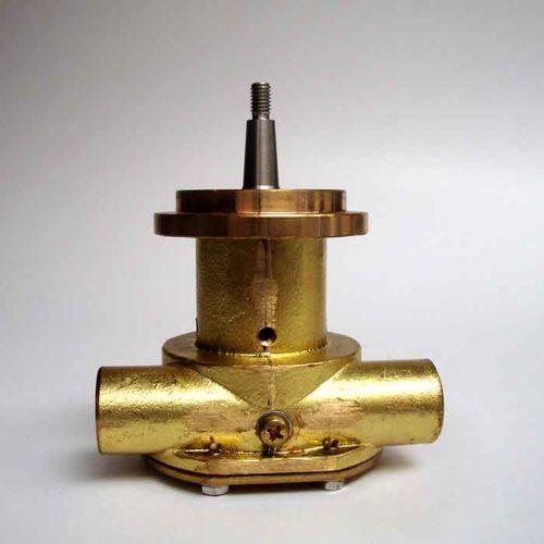 Pompe eau de mer adaptable pour moteur Lombardini    LDW 1904/ LDW 2204/ LDW 1503/ LDW 2004    Références lombardini 6584.514 / Jabsco : 29470-2431 / Johnson : 10-35355-01 Lombardini LDW1904M / LDW2204M / LDW1503M / LDW2004M