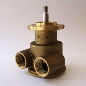 Pompe eau de mer adaptable pour moteur Lombardini LDW2204 MT / LDW2004 MT  Références pompe Lombardini 6584.440  Johnson : 10-24475-02 Lombardini LDW2204MT / LDW2004MT