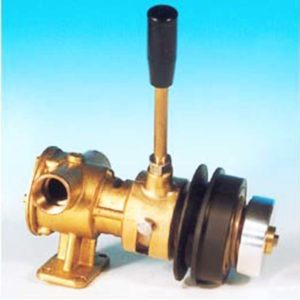 Pompe attelée au moteur à débrayage manuel, pour aspiration tous liquides Débrayage manuel AF63MP