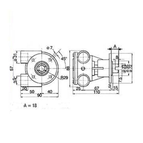 Pompe eau de mer adaptable pour moteurs Perkins 4108 /4107    Référence Perkins : 35615    Jabsco: 3200-0001 / 3270-200 / 3270-2401 / 3270-2101    Johnson : 10-24119-2 / 10-24119-3 / 10-24119-7 / 10-24119-8 Perkins 4108 / 4107