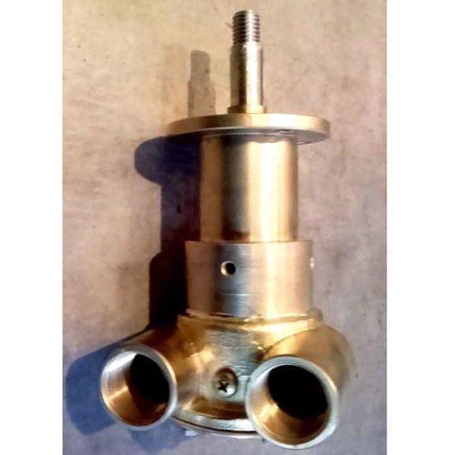 Pompe eau de mer adaptable pour moteurs MWM. Déjà montée sur moteur D225/ D202-2    Références pompe: 9973 sur le corps de la pompe.    Jabsco 9970-241-37 / 9970-241        - SUR COMMANDE MWM D225 / D202